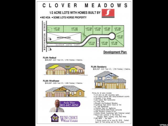 715 E CLOVER GATE CLOVER GATE Grantsville, UT 84029 - MLS #: 1544189