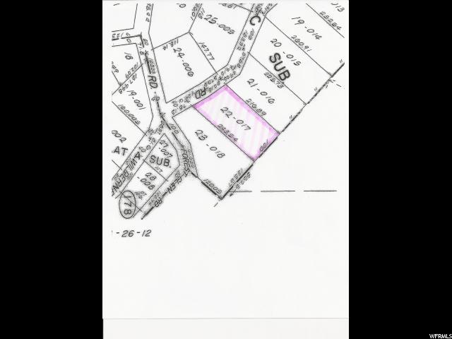 12415 E FOREST GLEN RD Brighton, UT 84121 - MLS #: 1546288