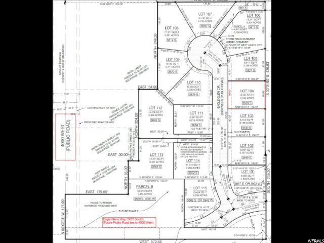 3829 S EAGLE GLENN CIR West Valley City, UT 84120 - MLS #: 1550564