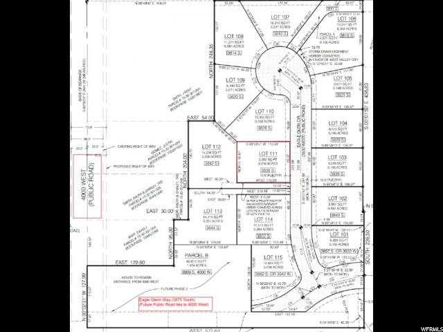 3838 S EAGLE GLENN CIR West Valley City, UT 84120 - MLS #: 1550565