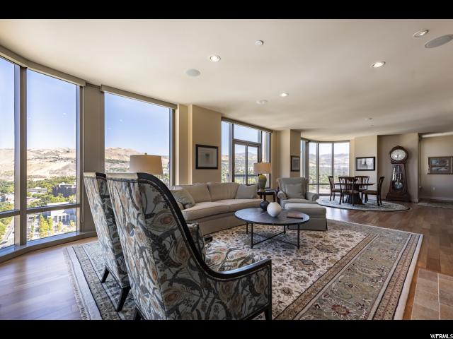 Home for sale at 99 W South Temple St #2406, Salt Lake City, UT  84101. Listed at 1995000 with 3 bedrooms, 2 bathrooms and 2,296 total square feet