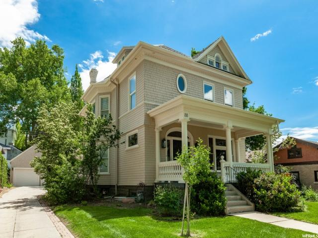 Home for sale at 88 N Virginia St, Salt Lake City, UT  84103. Listed at 980000 with 7 bedrooms, 4 bathrooms and 4,478 total square feet