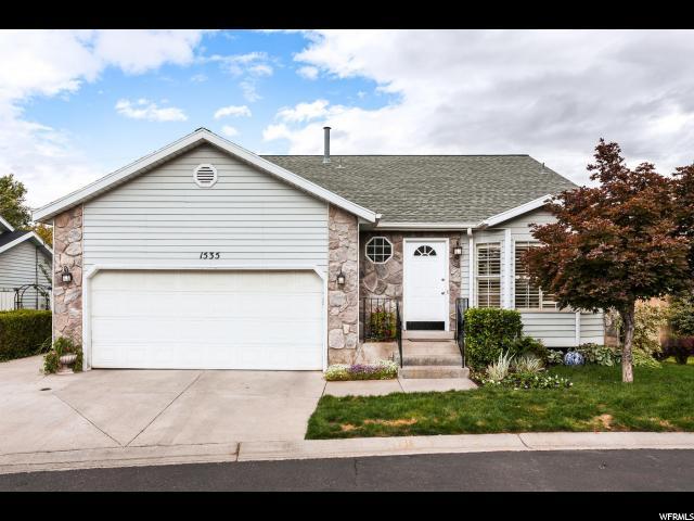 1535 E AMBLEWOOD LN, Salt Lake City UT 84124