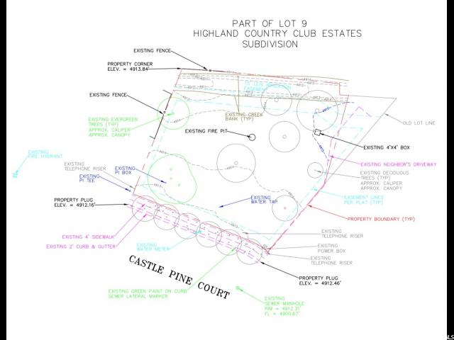 5196 W Castle Pine Circle Highland Utah 84003 Land For Sale