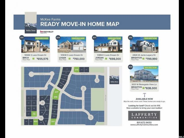 2826 JACKS LEGACY JACKS LEGACY Unit 213 South Jordan, UT 84095 - MLS #: 1574074