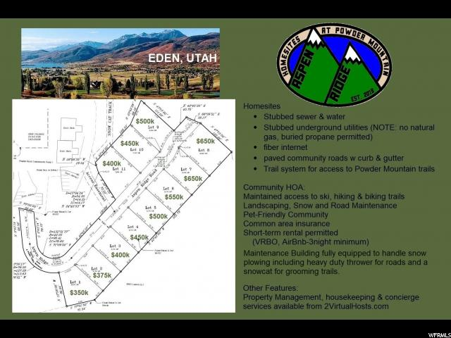6158 N POWDER E, Eden, Utah 84310, ,Residential,For sale,POWDER,1575198