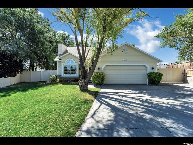 4479 S Deermeadow Drive West Valley City Utah 84120 Single Family For Sale