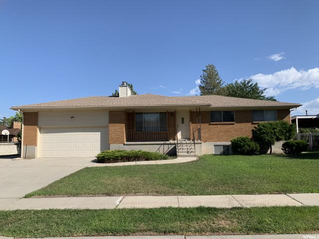 4826 W 3185 S West Valley City Utah 84120 Single Family For Sale