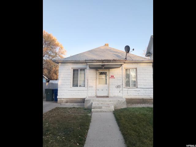 2936 PORTER AVE, Ogden in Weber County, UT 84403 Home for Sale
