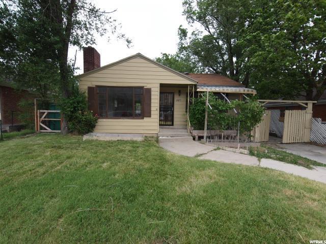 2877 HARRISON BLVD, Ogden in Weber County, UT 84403 Home for Sale