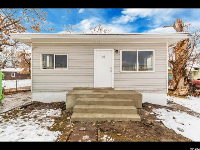 339 HEALY STREET, Ogden in Weber County, UT 84401 Home for Sale