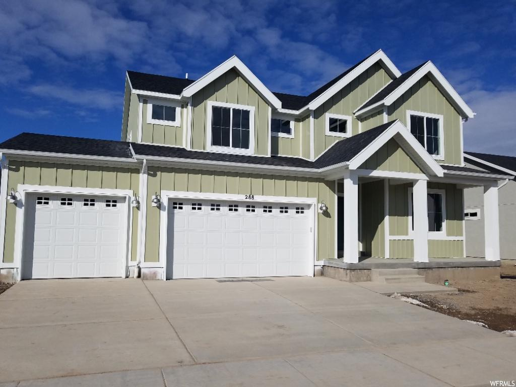 NEW, NEW, NEW!! Located in the Legacy Farms neighborhood in Saratoga Springs.  Home includes Grand Kitchen w/ White Cabinets, Kitchen & Bath Quartz, Laminate & Tile Flooring, Grand Master Bath w/ 2 Sinks, Fireplace, 3 Car Garage, Zoned HVAC & more. Several Homes to View. Home Complete December 2018.