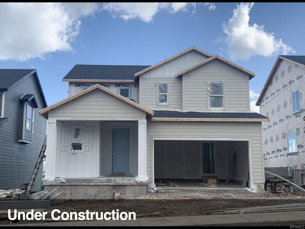 """Wild Rose - 111 - Jackson. ESTIMATED COMPLETION JUNE 2019. This beautiful Jackson home design features 3 bedrooms, 2.5 bathrooms, and a multipurpose loft space. The main floor includes an open-concept great room, and kitchen with stainless steel appliances including the fridge, quartz countertops, and upgraded craftsman style cabinets. The second floor offers three bedrooms, full bathroom with quartz countertops, and grand master suite with double vanity and walk-in closet. This home includes smart features such as: Echo Dot, Schlage Smart Lock, Honeywell Lyric Thermostat, Ring Video Doorbell, and LiftMaster Garage Door Opener with MyQ Technology. This home backs vast open space! Other Lennar """"Everything's Included"""" home designs, elevations and color combinations are available! Wild Rose is now open with two """"everything's included"""" model homes."""