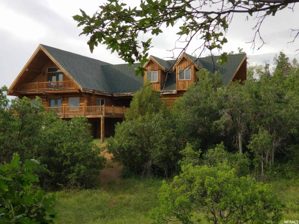 "Very nice mountain cabin with Power & Water in the Manti La Sal Mountains of Northern Sanpete County. Good road access to the property, but snowmobile access is needed during the winter.  There is a snowmobile parking lot less than a mile from the cabin. Property includes Aspen Hills Lots 633, 634, 635 & 636. Lot 637 is available from another owner to make a total property acerage of 5.423. Cabin was initially constructed in 2000, but has recently been very tastefully remodeled through out. All remodel work is upper end quality. GPS Coordinates: 39°34'35.0""N 111°22'20.5""W Elevation 7,552."