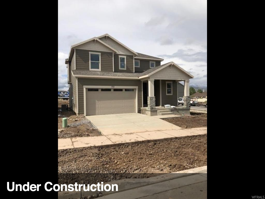 """Wild Rose - 136 - Jackson. ESTIMATED COMPLETION JUNE 2019. This beautiful Jackson home design features 3 bedrooms, 2.5 bathrooms, and a multipurpose loft space. The main floor includes an open-concept great room, and kitchen with stainless steel appliances including the fridge and gas oven and range, white quartz countertops, and upgraded light grey craftsman style cabinets. The second floor offers three bedrooms, full bathroom with quartz countertops, and grand master suite with double vanity and walk-in closet. This home includes smart features such as: Echo Dot, Schlage Smart Lock, Honeywell Lyric Thermostat, Ring Video Doorbell, and LiftMaster Garage Door Opener with MyQ Technology. This home backs vast open space! Other Lennar """"Everything's Included"""" home designs, elevations and color combinations are available! Wild Rose is now open with two """"everything's included"""" model homes."""