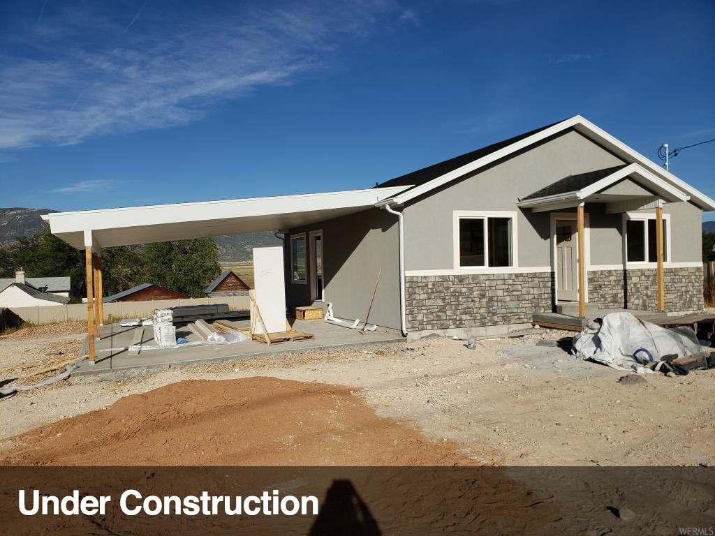 Beautiful newly constructed home. This is a great home with plenty of space. 4 bedrooms 2 baths. Basement will be 100 % finished. Home is in a great area with other new homes. Taxes have not been assessed because of new construction.  More pictures coming soon.