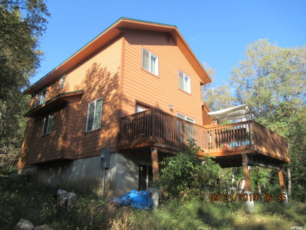 Trying to find the perfect cabin.  This is a great one!!  Built in 2013 so everything is basically new.  Backs onto Birch Creek.  Large Decks one is covered.  Plenty of room for everyone - one of the bedrooms upstairs is double size.  Nice living, dining and kitchen.  Family room downstairs.  Great water set up in the basement.