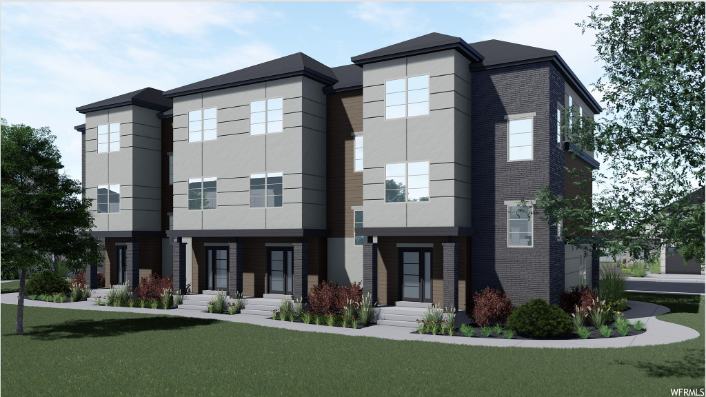 Large master bedroom. Granite counter tops standard. Open concept floor plan.  Large open kitchen.  Stunning finishes.  More units to be built.  Buyers can choose finishes and colors. Just 8 minutes from I-15, Thanksgiving Point and the Saratoga Springs marina!