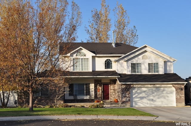 OPEN HOUSE 11/21 1-4pm.  RARE HALF ACRE LOT, (zoned equestrian,) situated in a cul-de-sac, w/an amazing home featuring a grand living room for large family gatherings, plus a casual living room w/fireplace, and a third, spacious room in basement. Vaulted entrance, grand room, and master. Open floor plan w/remodeled kitchen including an island, granite counters, and undermount lighting. Appliances include a new convection oven & dishwasher. This is a single owner property which has been well cared for & loved.  Entire home just professionally painted. Remodeled 5 piece master bath and Toto toilets in all bathrooms. New carpet in basement which also offers deep cold storage and ample closet space. The list goes on w/RV parking, fruit trees, and huge, private yard for hosting w/firepit, built-in basketball court, holes for Volleyball net, and patio pavers sent in for holding a trampoline. Cover was added to the back patio, under which the Hot Tub sits and is included!  Fully fenced w/private, 6' vinyl fencing.  Yard has two garden sections and back of lot is fenced off, w/many possible uses such as a dog run. Shed allows f/extra storage / workshop, & workbench stays. New roof in 2018. Two, newer AC units and two, newer 40 gallon h2Oheaters. Water share & secondary water.  Square footage figures are provided as a courtesy estimate only and were obtained from tax data . Buyer is advised to obtain an independent measurement.