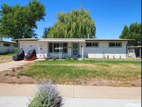 Home for sale at 1369 N 350 West, Sunset, UT 84015. Listed at 214900 with 3 bedrooms, 1 bathrooms and 1,352 total square feet