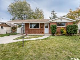 Home for sale at 7353 S Layne Dr, Midvale, UT  84047. Listed at 300000 with 3 bedrooms, 1 bathrooms and 1,884 total square feet
