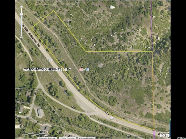 3801 North Little Cottonwood, Cottonwood Heights, Utah 84092, ,Land,For sale,North Little Cottonwood,1397365