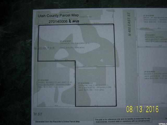 945 400, Spanish Fork, Utah 84660, ,Land,For sale,400,1400633