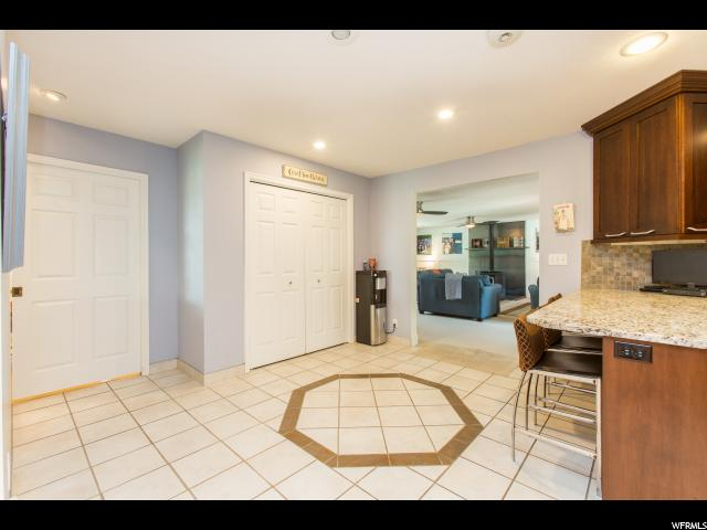 Kitchen Pantries and entrance to Huge family room