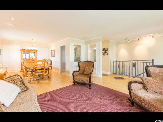 Open floor plan with formal dining
