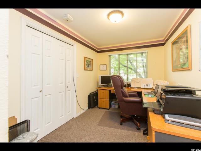 Spacious home office space or main floor bedroom
