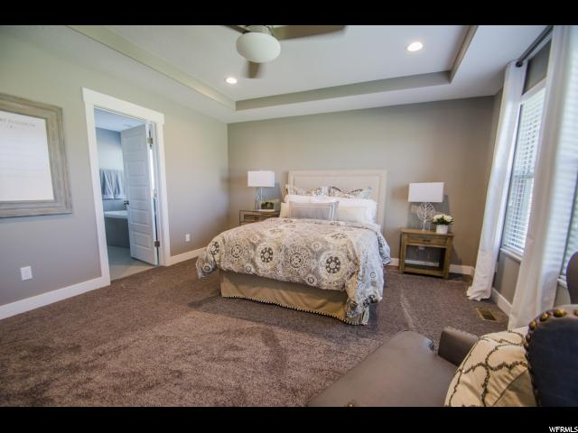 Example of finished Master Bedroom: Similar Home