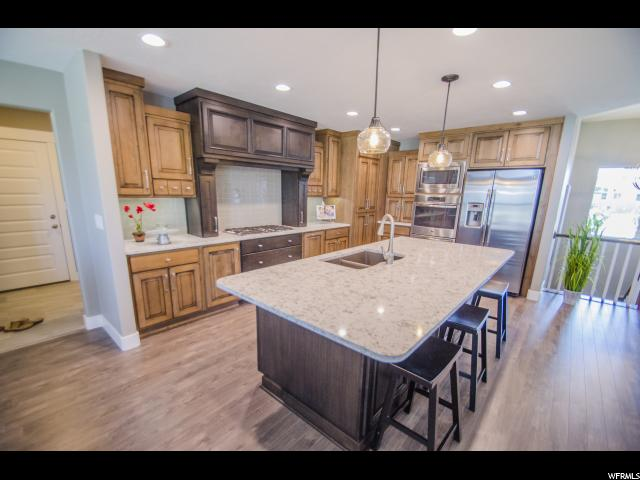 Example of finished kitchen from similar home