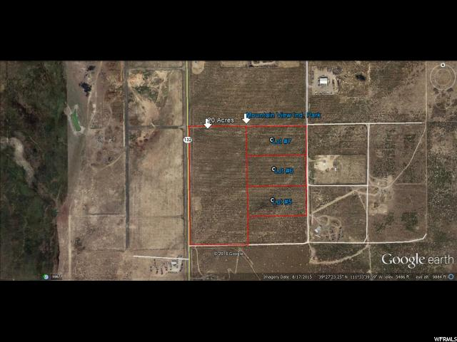 INDUSTRIAL LOT WITH POWER AND TELEPHONE TO THE PROPERTY. Includes Underground well rights, Most Wells in the area are approximately 100 ft. Deep. Water table at approx. 20 feet.