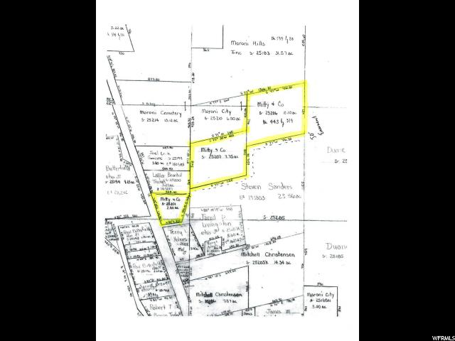 Exclude mineral rights. 20.65 acres (included 3 parcels, S-25201, S-25207, S-25206) located on Hwy 136 north of Moroni. Lots are not adjacent but has 50 ft easement to property.  Great mountain views and valley views to build home!!