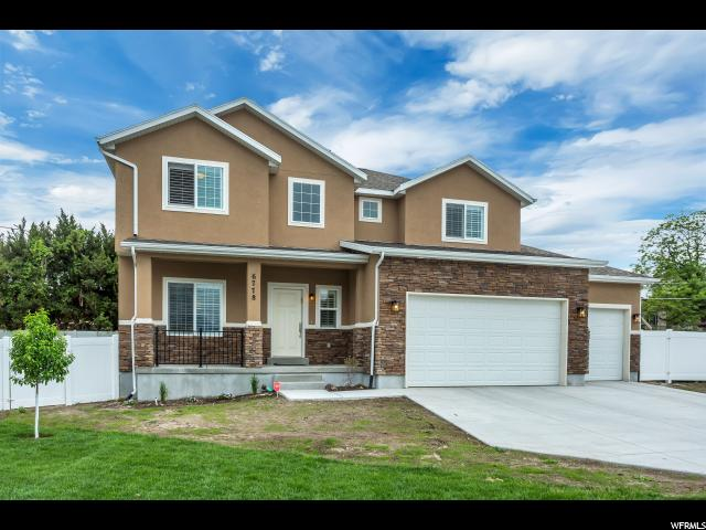 6778 S NOTTINGHAM DR, West Jordan UT 84084
