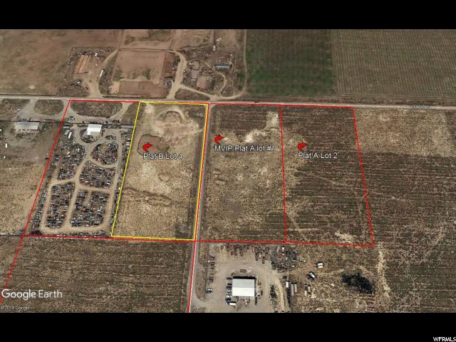 INDUSTRIAL LOT W/ County road frontage. Located on 13000 N (Sunny Bench Road) South of Chester between Highway 89 and Highway 132.