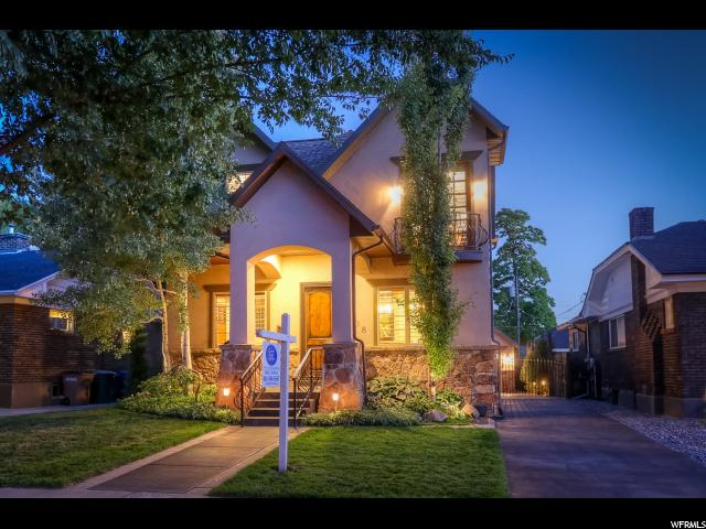 Home for sale at 1608 E Harrison Ave, Salt Lake City, UT  84105. Listed at 895000 with 4 bedrooms, 4 bathrooms and 2,876 total square feet