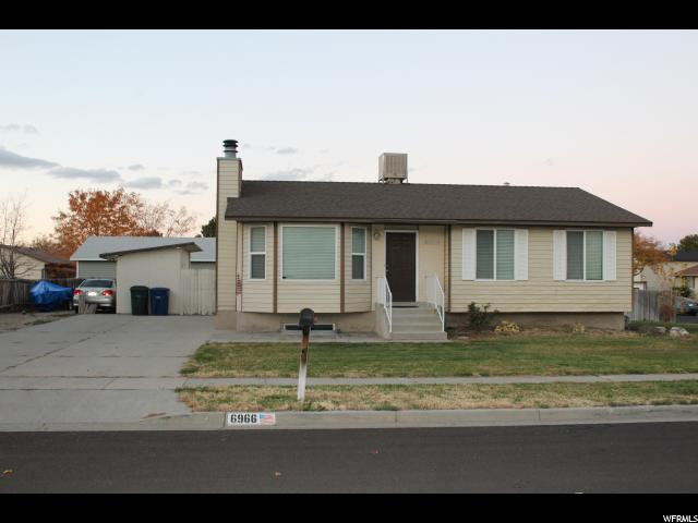 6966 W 3980 S, West Valley City UT 84128