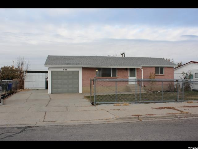 639 E WASATCH AVE, Tooele UT 84074