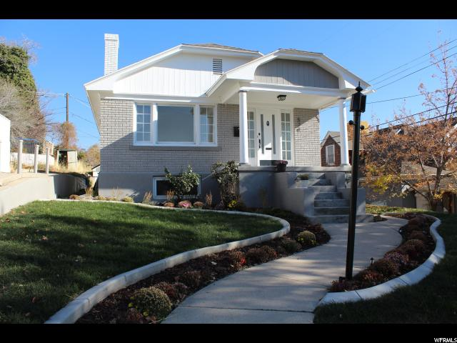 Home for sale at 524 N E St, Salt Lake City, UT 84103. Listed at 499000 with 4 bedrooms, 2 bathrooms and 1,650 total square feet