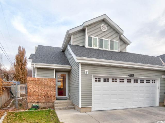 Home for sale at 4183 S 1610 East, Millcreek, UT 84124. Listed at 425000 with 3 bedrooms, 4 bathrooms and 2,515 total square feet
