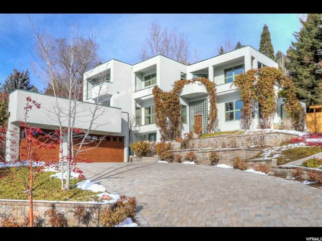 Home for sale at 1611 Federal Heights Dr, Salt Lake City, UT  84103. Listed at 1600000 with 5 bedrooms, 5 bathrooms and 6,212 total square feet
