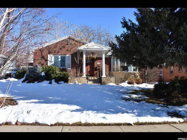 Home for sale at 1825 S 2300 East, Salt Lake City, UT  84108. Listed at 549000 with 3 bedrooms, 2 bathrooms and 2,329 total square feet