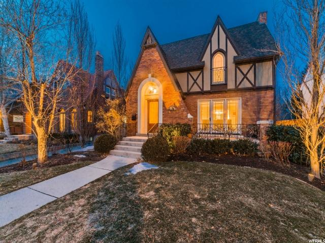 Home for sale at 1721 E Herbert Ave, Salt Lake City, UT  84108. Listed at 1299500 with 4 bedrooms, 4 bathrooms and 3,966 total square feet