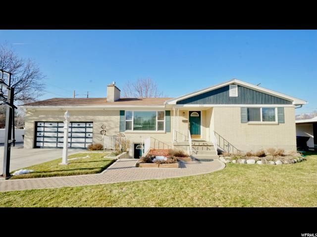 Home for sale at 1313 E 4170 South, Millcreek, UT 84124. Listed at 425000 with 4 bedrooms, 2 bathrooms and 2,373 total square feet