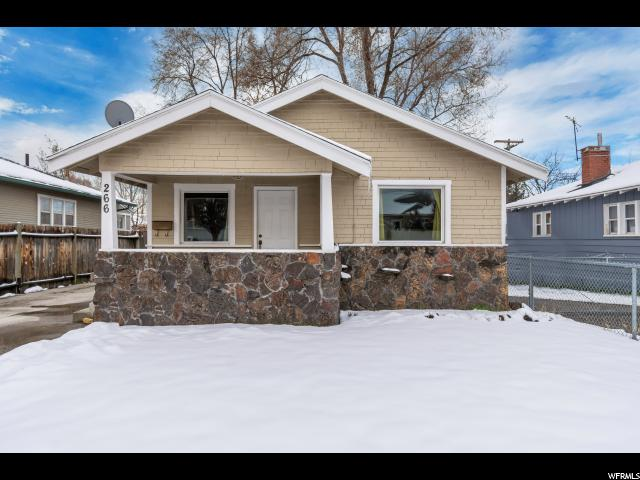 Home for sale at 266 E Hollywood Ave, Salt Lake City, UT 84115. Listed at 290000 with 2 bedrooms, 1 bathrooms and 984 total square feet