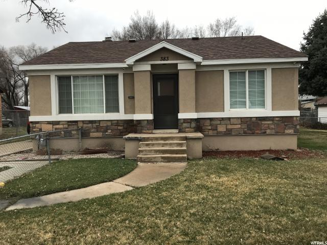 383 N WALL AVE, Ogden UT 84404