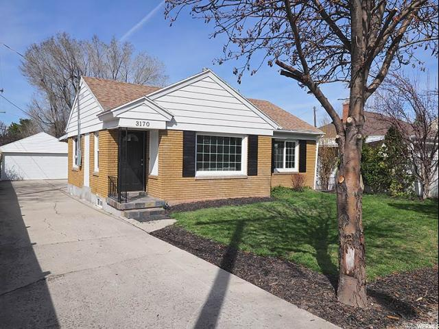 Home for sale at 3170 S Kenwood Dr, Salt Lake City, UT 84106. Listed at 430000 with 3 bedrooms, 2 bathrooms and 1,656 total square feet