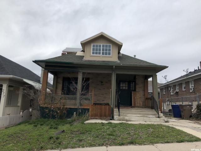 Home for sale at 279 N E St, Salt Lake City, UT 84101. Listed at 419999 with 3 bedrooms, 2 bathrooms and 3,604 total square feet