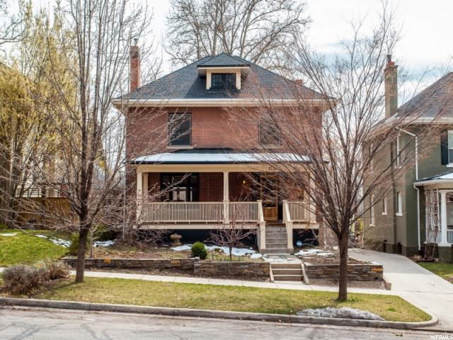 Home for sale at 1128 E First Ave, Salt Lake City, UT 84103. Listed at 740000 with 4 bedrooms, 3 bathrooms and 2,856 total square feet